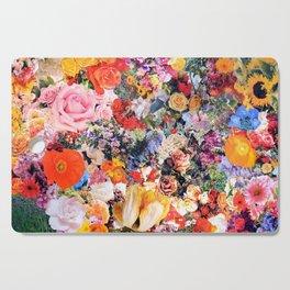 Garden Variety collage art Cutting Board