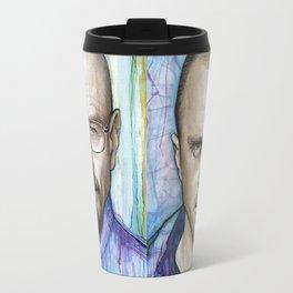 Jesse Pinkman Portrait Travel Mug
