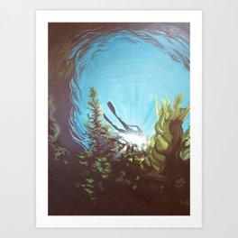 Deep Love Art Print