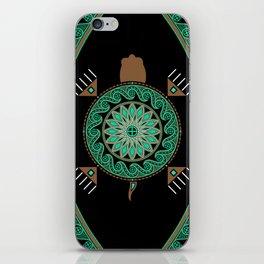 Green Turtle iPhone Skin
