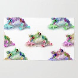 Tree Frog Pattern Rug