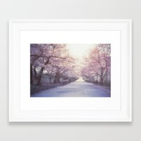 central park Framed Art Prints featuring Central Park by Vivienne Gucwa