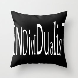 Individualist Throw Pillow