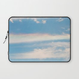 What is the rainbow made of? Laptop Sleeve