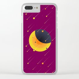 021 OWLY meteor shower Clear iPhone Case