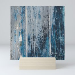 weathered wood Mini Art Print