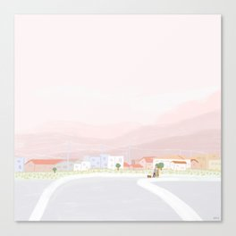Countryside Walks Canvas Print