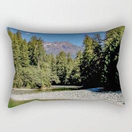 Alone in Nature Rectangular Pillow