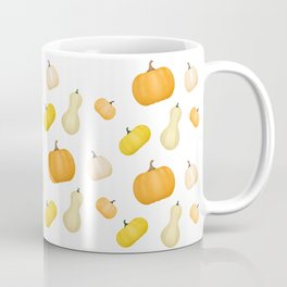Pumpkins & Squash Pattern Coffee Mug