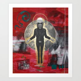 Saint LeRoy of the Sacred Faceless Avatar Art Print