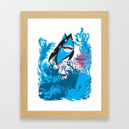 surfer brother Framed Art Print