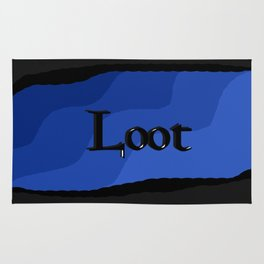 Loot: Color Ocean-Blue Rug