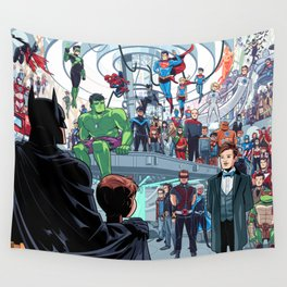 You'll Be Safe Here Wall Tapestry