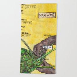 Heatwave / Weave Hat Beach Towel