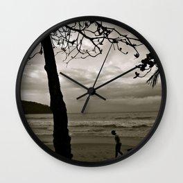 Down Wall Clock