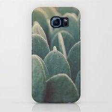 Green + Gold Galaxy S8 Slim Case