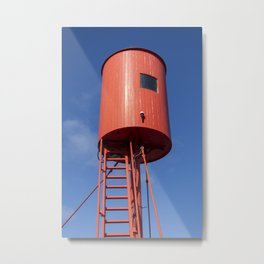 Red light spells danger Metal Print