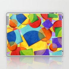 Candy Rainbow Circus Plaid Laptop & iPad Skin