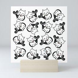 sea cat Mini Art Print