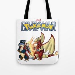 Pokémon: Civil War Tote Bag