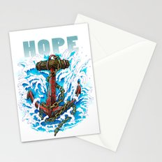 Hope is my Anchor Stationery Cards