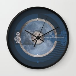 O Moon! the oldest shades #everyweek 45.2016 Wall Clock