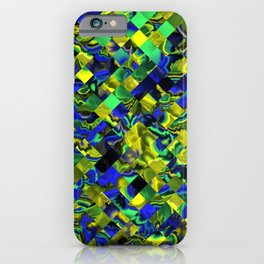 zappy Jumbled 1 iPhone Case