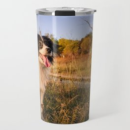 wait for autumn to come Travel Mug
