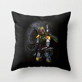 BobaFett of the 501st Legion fan art Throw Pillow