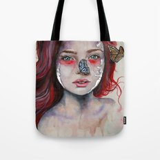 Where There Are Butterflies  Tote Bag