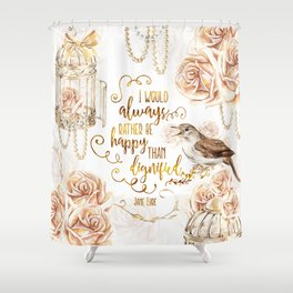 Jane Eyre - Dignified Shower Curtain