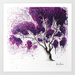 Southern Dream Tree Art Print