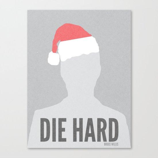 Die Hard Minimalist Poster Canvas Print