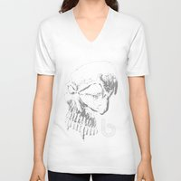 evolution V-neck T-shirts featuring Evolution by Barton Industries
