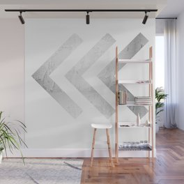 Away We Go in Silver Wall Mural