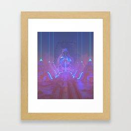 Lost Astronaut Series #05 - Star Harvester Framed Art Print
