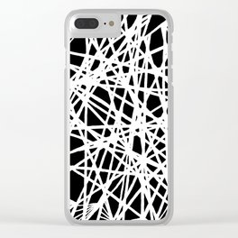 See-Through Star Negative Clear iPhone Case