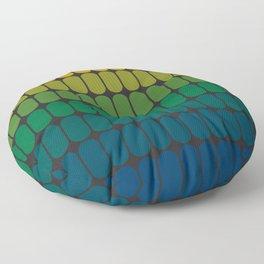Verdant Capsule Floor Pillow