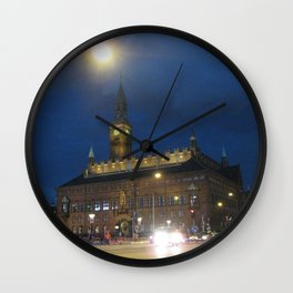 Lights in the Night Wall Clock