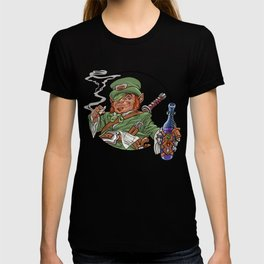 Party Leprechaun for St. Patrick's Day T-shirt