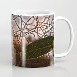The Last Leaf in Autumn Coffee Mug