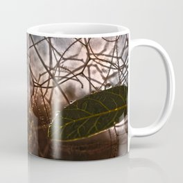 The Last Leaf in Autumn Coffee Mug