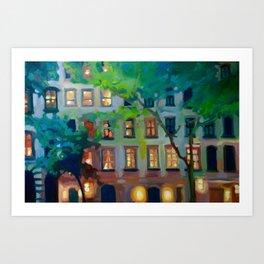 West 23rd Street Art Print