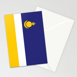 buryatia flag Stationery Cards