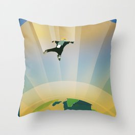 Visions of the Future - HD 40307g Throw Pillow