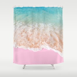 PINK SAND Shower Curtain