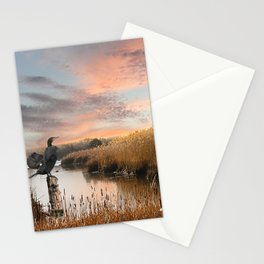 Sunset in the Wetlands Stationery Cards