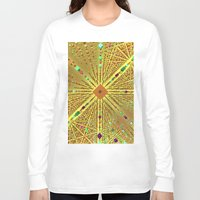 labyrinth Long Sleeve T-shirts featuring Labyrinth by Fractalinear