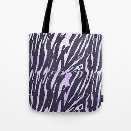 Tiger Rose Watercolor Gradient Tote Bag