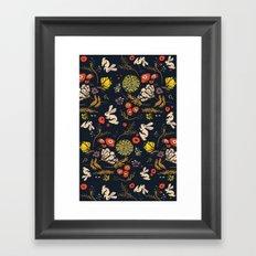 Autumn Bunny Land Framed Art Print